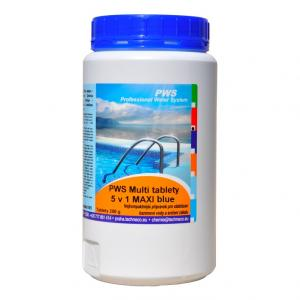 PWS Multi tablety 5v1 MAXI Blue 1kg