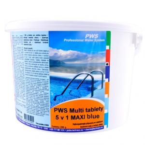 PWS Multi tablety 5v1 MAXI Blue 10kg